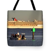 Party Boats Tote Bag