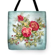 Party Of Flowers  Tote Bag