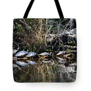 Party On A Log Tote Bag