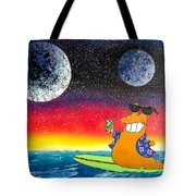 Party On Slurms Tote Bag by Drew Goehring
