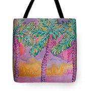 Party Palms Tote Bag