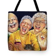 Party Pooper Tote Bag by Shelly Wilkerson