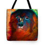 Party Pyrenees Tote Bag by Ericamaxine Price