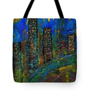 Party Town Tote Bag