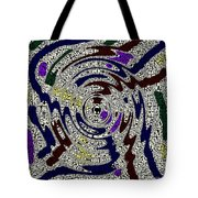 Partying In The City Tote Bag