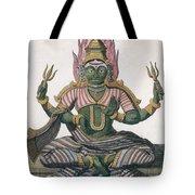 Parvati, From Voyage Aux Indes Et A La Tote Bag