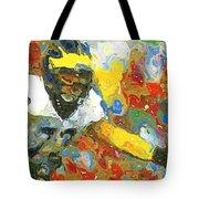 Pass Block In Color Tote Bag