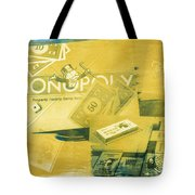 Pass Go Tote Bag by Caitlyn  Grasso