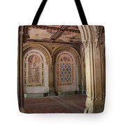 Passage Bethesda Terrace Nyc Tote Bag