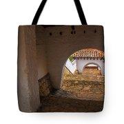Passageway In Colonial Town Tote Bag