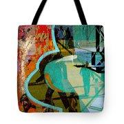 Passangers Paintbrush  Tote Bag