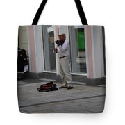 Passau Violinist Tote Bag