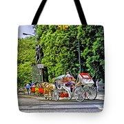 Passenger Cars Only - Central Park Tote Bag