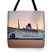 Passenger Port Piraeus. Tote Bag