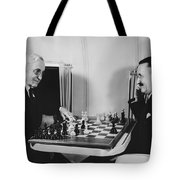 Passengers On Panam Clipper Tote Bag by Underwood Archives