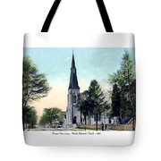 Passiac New Jersey - Norht Reformed Church - 1910 Tote Bag