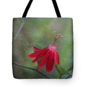 Passiflora Flower Tote Bag