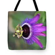Passiflora Lavender Lady Tote Bag