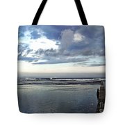 Passing Of The Storm Tote Bag