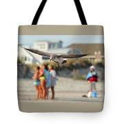 Look Out Below Tote Bag