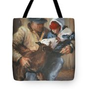 Passing The Torch Tote Bag
