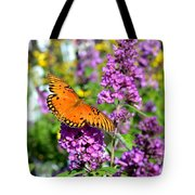 Passion Butterfly Tote Bag