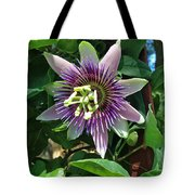Passion Flower 4 Tote Bag