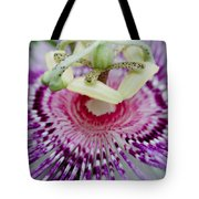 Passion Flower In Bloom Tote Bag