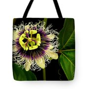 Passion Flower Tote Bag by James Temple