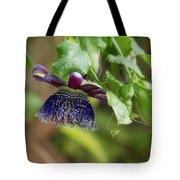 Passion Flower - Ruby Glow Tote Bag