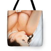 Passion For Pearls Tote Bag