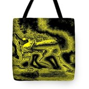 Passion In Grainy Gold Tote Bag