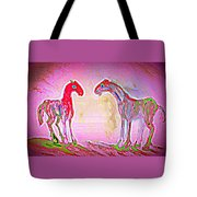 They Think We Have A Passion For Pink But We Just Have A Passion  Tote Bag