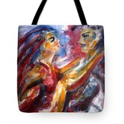 Passion Is Tango Tote Bag