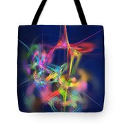 Passion Nectar - Circling The Flower Of Paradise Tote Bag