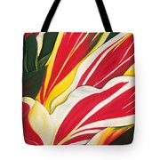 Passion Painting Tote Bag by Lisa Bentley