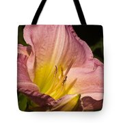 Passion Pink Lilly Tote Bag