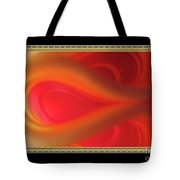 Passion Tunnel. Greeting Card Tote Bag