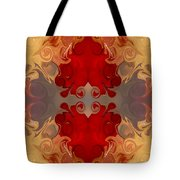 Passionate Explosions Of Colorful Reality By Omaste Witkowski Tote Bag