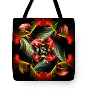 Passionate Love Bouquet Abstract Tote Bag