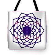 Passionate Purple Prayers Abstract Chakra Art By Omaste Witkowsk Tote Bag