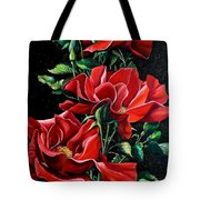 Passionately Red  Tote Bag