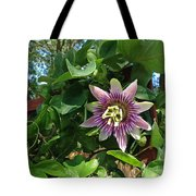 Passion Flower 3 Tote Bag
