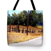 Past And Present Meet Tote Bag