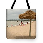 Past Midday Port Lavaca Beach Tote Bag