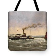 Past On The Medway Tote Bag