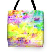 Pastel Abstract Patterns I Tote Bag