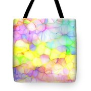 Pastel Abstract Patterns IIi Tote Bag