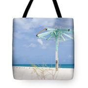Pastel Beach Frame Tote Bag