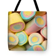 Pastel Colored Marshmallows Tote Bag
